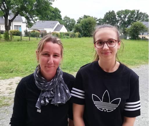 Stéphanie et Léa